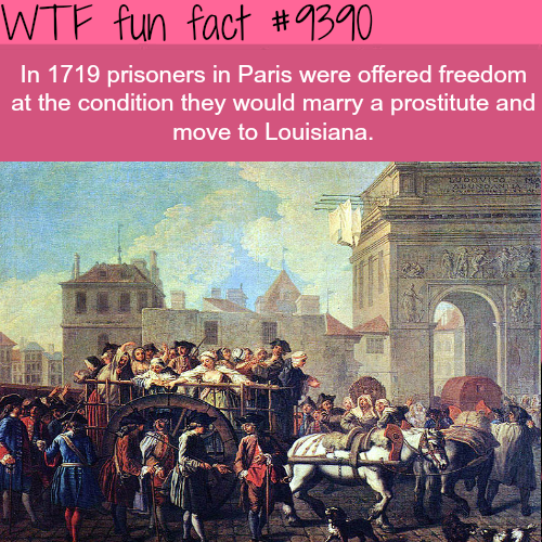 Prisoners in Paris were offered freedom - WTF fun facts