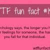 psychology and love facts