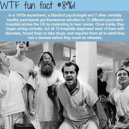 Psychology experiment - WTF fun fact