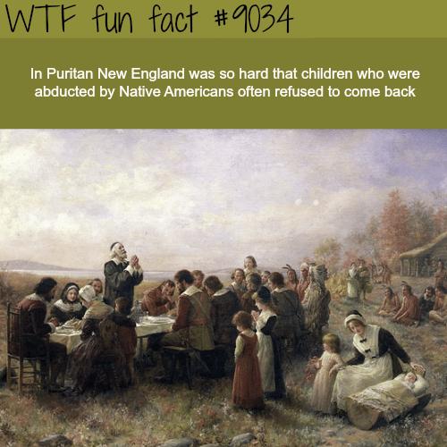 Puritan New England - WTF fun facts