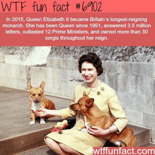 Queen Elizabeth ll - WTF fun fact
