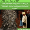 queen elizabeth refused to sit on the iron throne