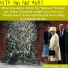 queen elizabeth visits the iron throne wtf fun