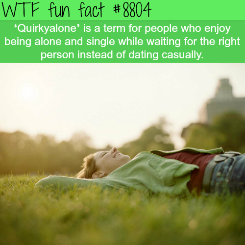 Quirkyalone - WTF fun facts