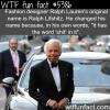 ralph laurens original name wtf fun facts