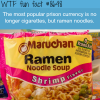ramen noodles replaced cigarettes as the new