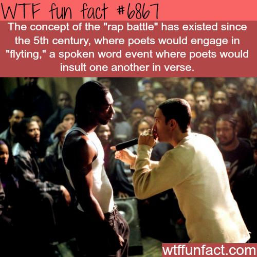 Rap Battles - WTF fun fact