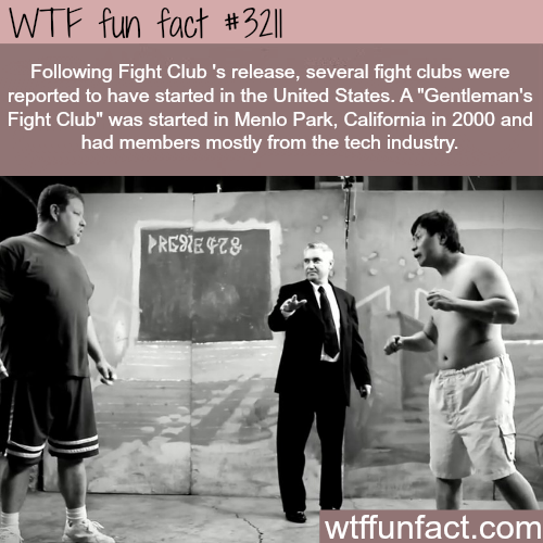 Real fight clubs in the United States -  WTF fun facts
