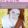 red hair and blue eyes wtf fun facts