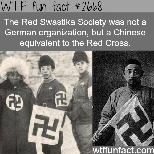 Red Swastika Society - WTF fun facts
