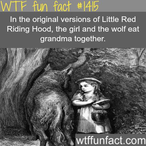 TheoriginalRed Riding Hood.