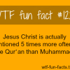 religions jesus christ is mentioned in the qur an five t