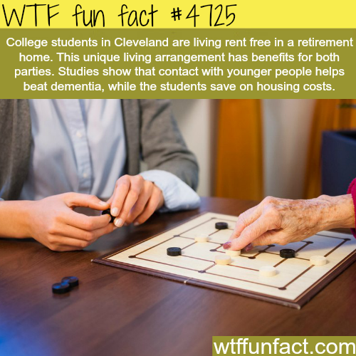 Rent is free for some college students in Cleveland - WTF fun facts
