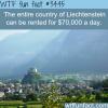 rent the entire country of liechtenstein