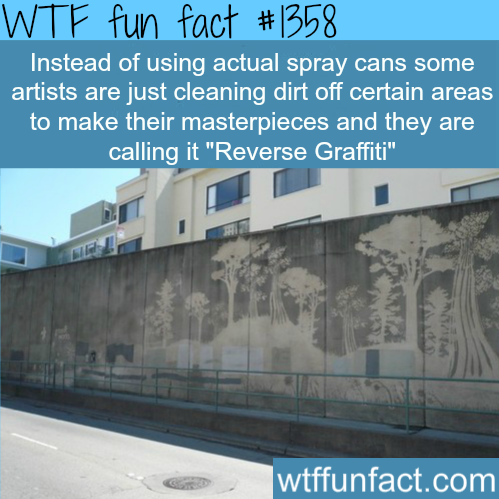 """Reverse Graffiti"" - best type ofgraffiti"