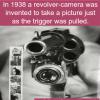 revolver camera gun