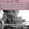 river on fire wtf fun fact