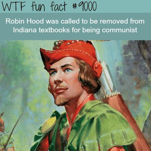 Robin Hood is Communist? - WTF fun fact