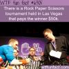rock paper scissors tournament wtf fun facts