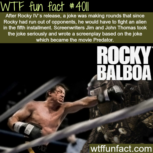 Rocky vs Aliens - WTF fun facts