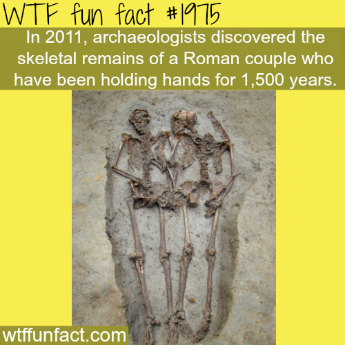 Roman couple holding hands for 1500 years - WTF fun facts