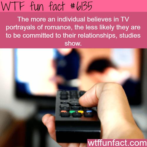 Romance on TV - WTF fun facts