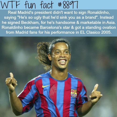 Ronaldinho The Magician - WTF fun facts