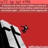 russian man survives a 5 story fall twice