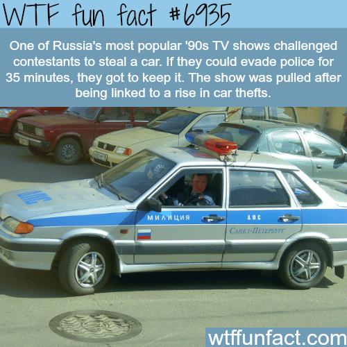 "Russian show ""The Intercept"" - WTF fun fact"