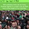 russian spies in london wtf fun facts