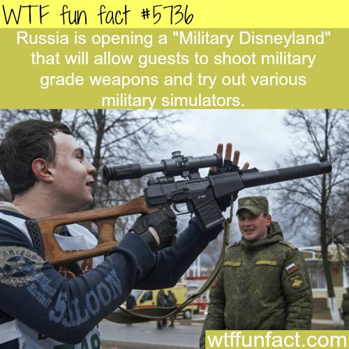 "Russia's ""Military Disneyland"" -WTF fun facts"