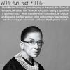 ruth bader ginsburg wtf fun facts