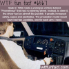 saab car with no steering wheel wtf fun facts