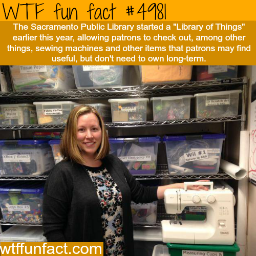 Sacramento Public Library - WTF fun facts