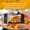 samsung noodles wtf fun facts