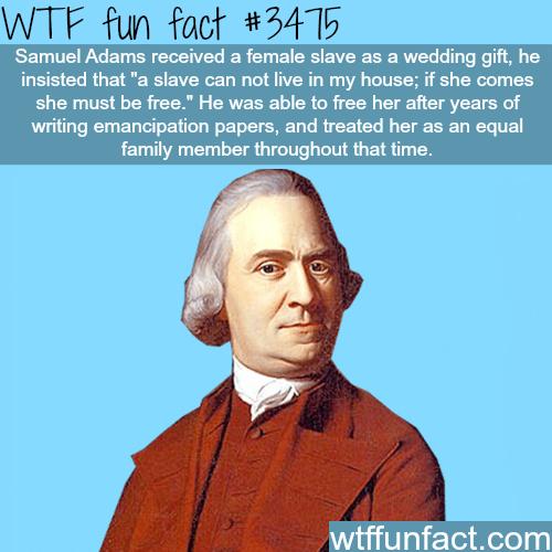 Samuel Adams - WTF fun facts