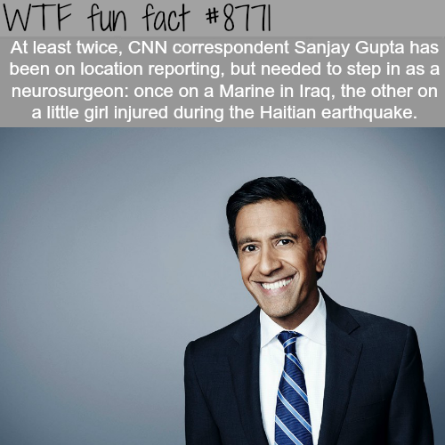 Sanjay Gupta - WTF fun facts