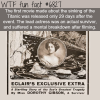 saved from the titanic wtf fun fact