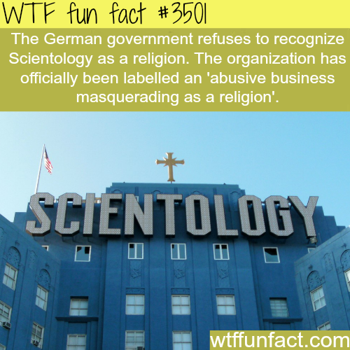 Scientology in Germany - WTF fun facts