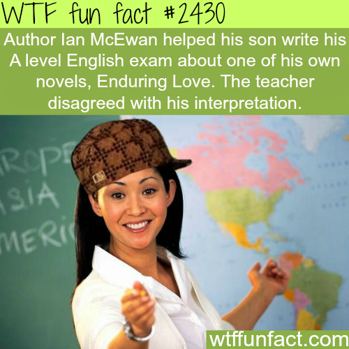 Scumbag teacher - WTF fun facts