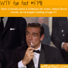 sean connery in james bond wtf fun facts