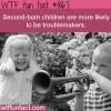 second born children wtf fun fact