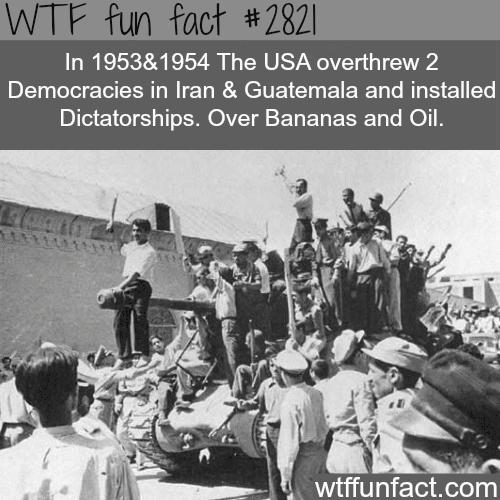 Secret CIA wars -WTF fun facts