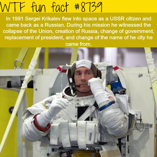 Sergei Kirkalev - WTF fun facts