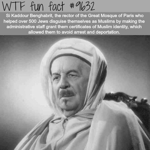 Si Kaddour Benghabrit - WTF fun fact