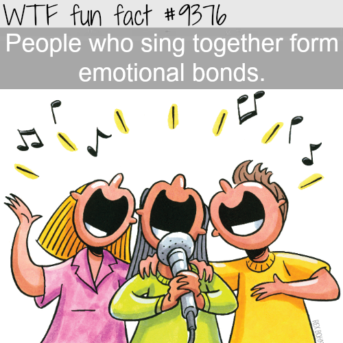 Singing together - WTF fun facts