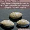 sling bullets facts wtf fun facts