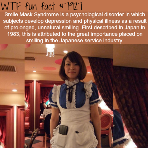 Smile Mask Syndrome - WTF fun facts