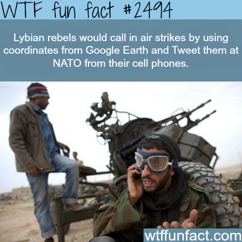 Social media and Arab spring - WTF fun facts