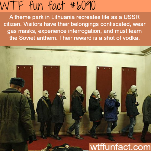 Soviet theme park in Lithuania - WTF fun facts
